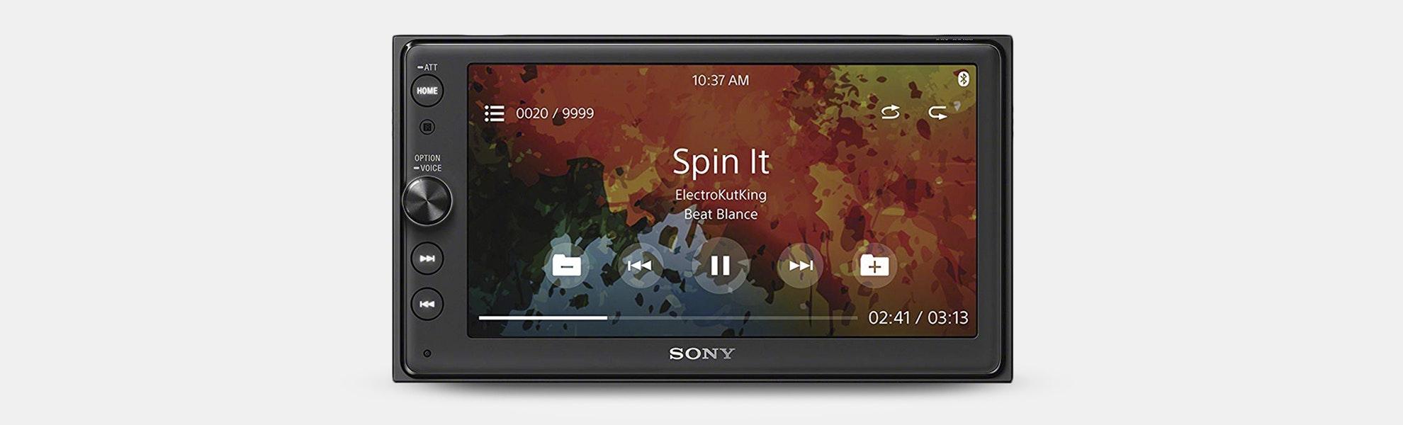"Sony 6.4"" Multimedia Receiver w/ Bluetooth"