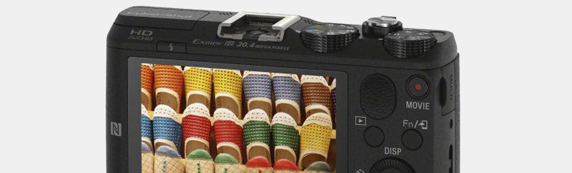 Sony HX60V 20.4MP Digital Camera w/GPS