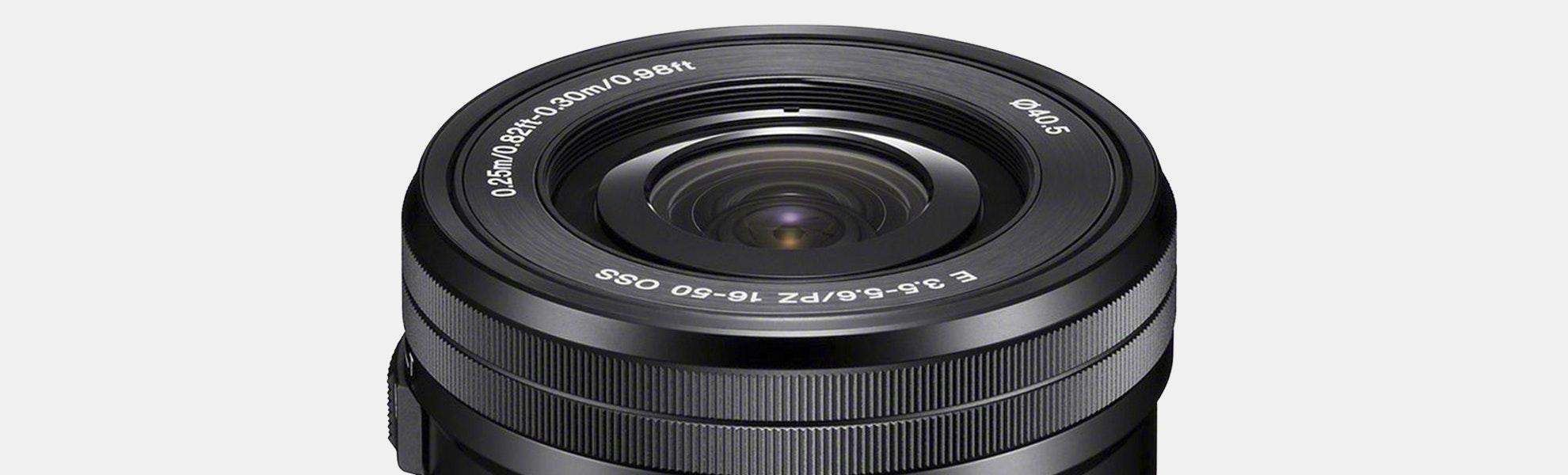 Sony E PZ 16–50 mm F3.5–5.6 OSS Lens