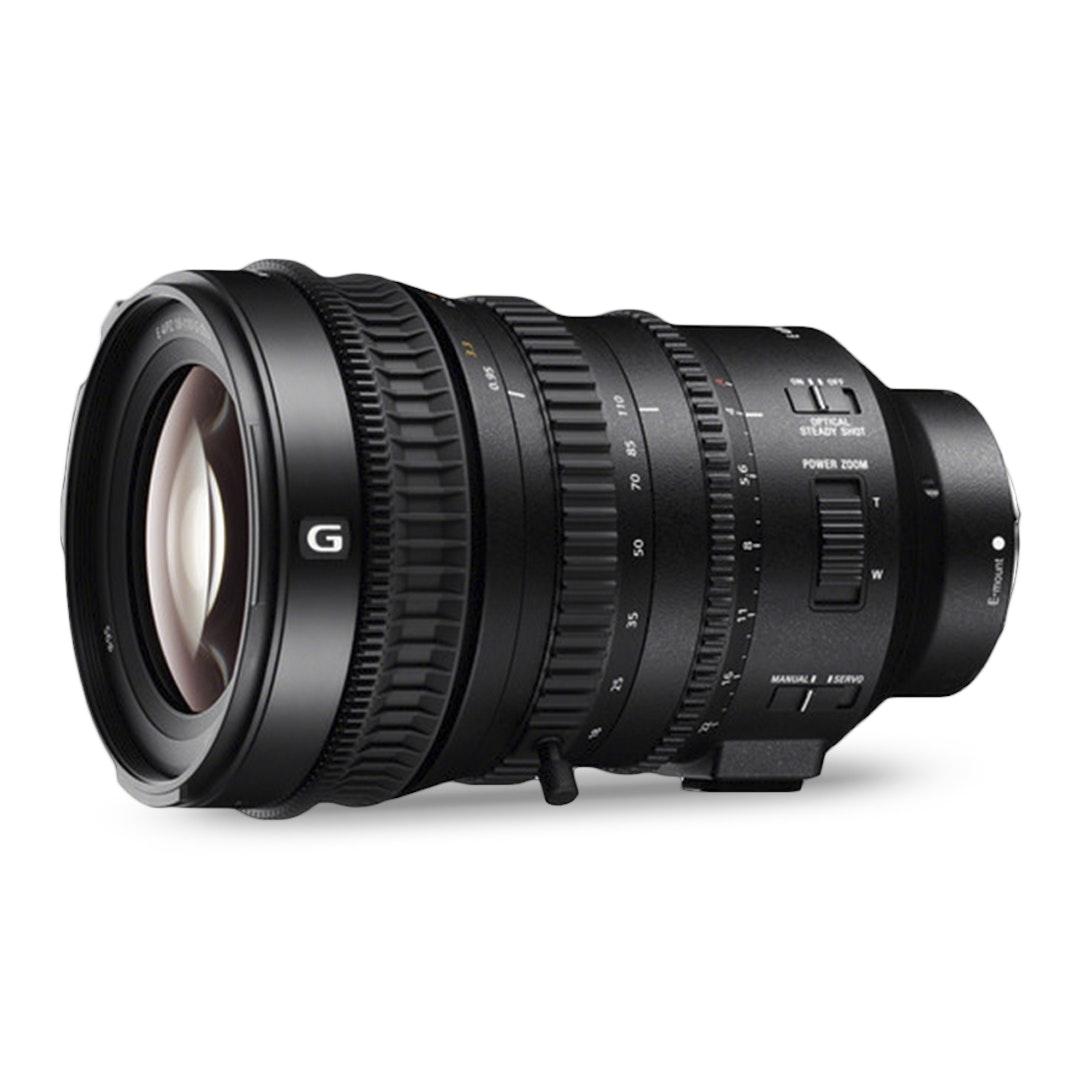 Sony E PZ 18–110mm f/4 G OSS Lens