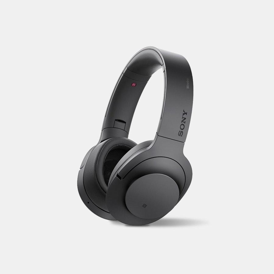 Sony MDR100ABN Wireless Noise-Canceling Headphones