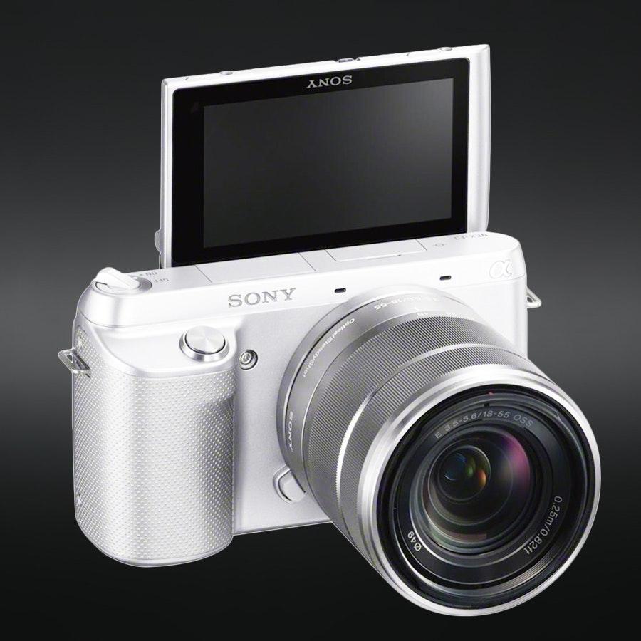 Sony NEX-F3K  16.1MP w/18-55mm F3.5-5.6 White
