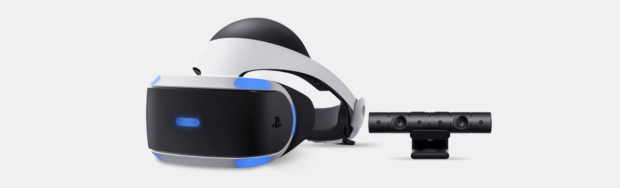 Sony PlayStation VR Headset & Camera Bundle