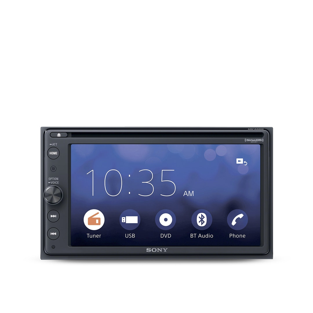 Sony Touch Screen DVD Receiver w/ Bluetooth