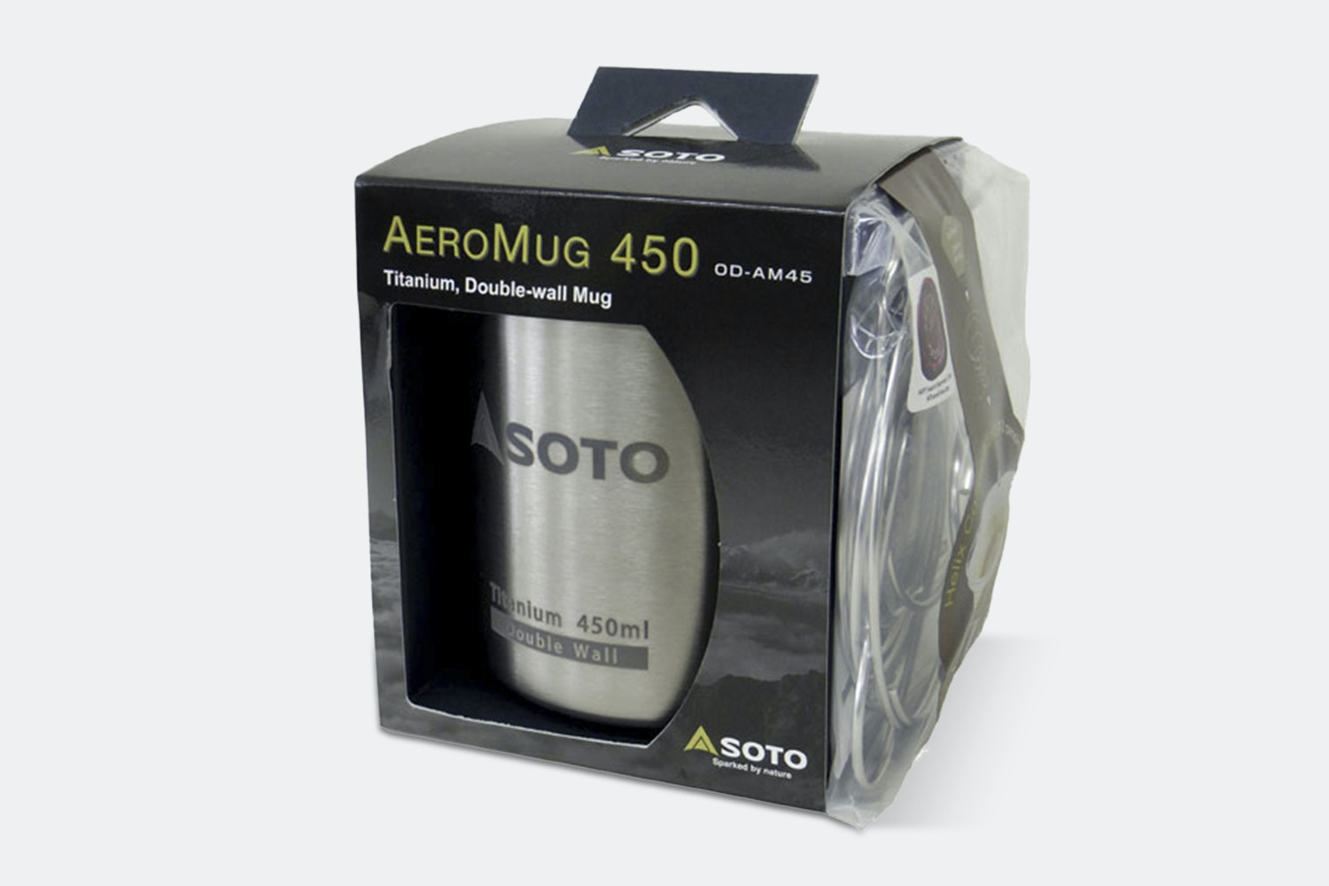 SOTO AeroMug 450ml Titanium Double-Wall Mug