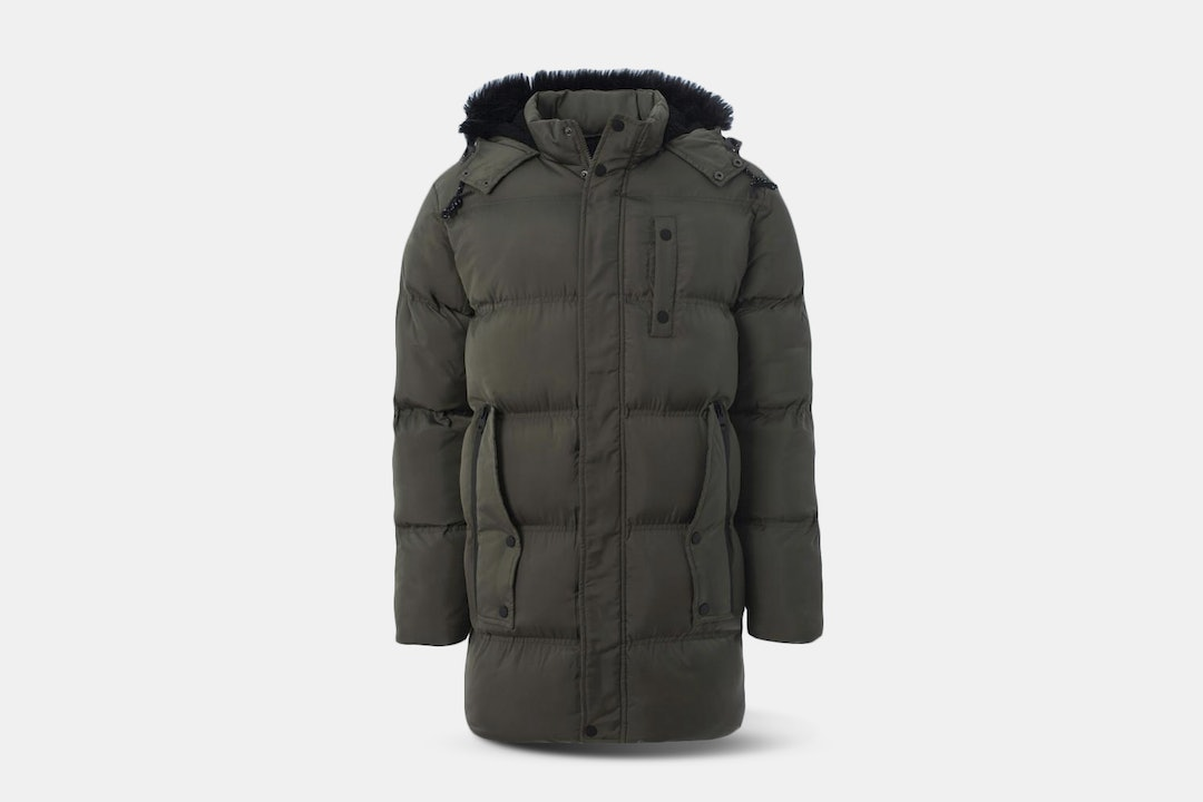 Soul Star Splint Puffy Down Jacket