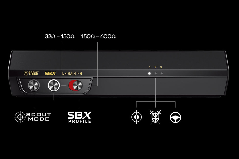 Sound BlasterX G5 7.1 HD Audio Sound Card