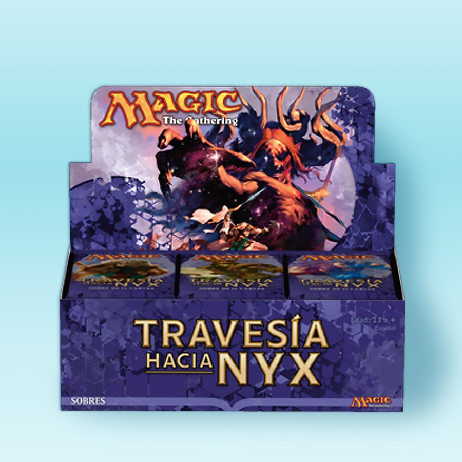 Spanish Journey Into Nyx Booster Box