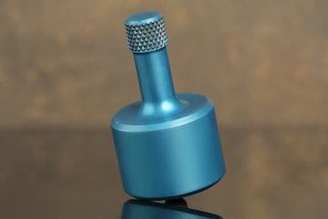 Anodized Blue Aluminum