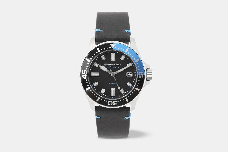 SP-5039-01 | Black Dial, Black & Blue Bezel, Black & Blue NATO strap