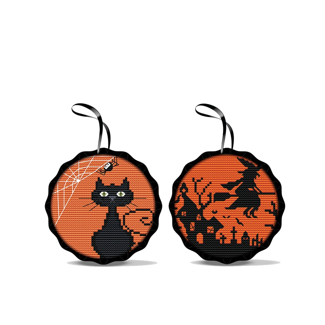 Spooky Cross-Stitch Kits (2-Pack)