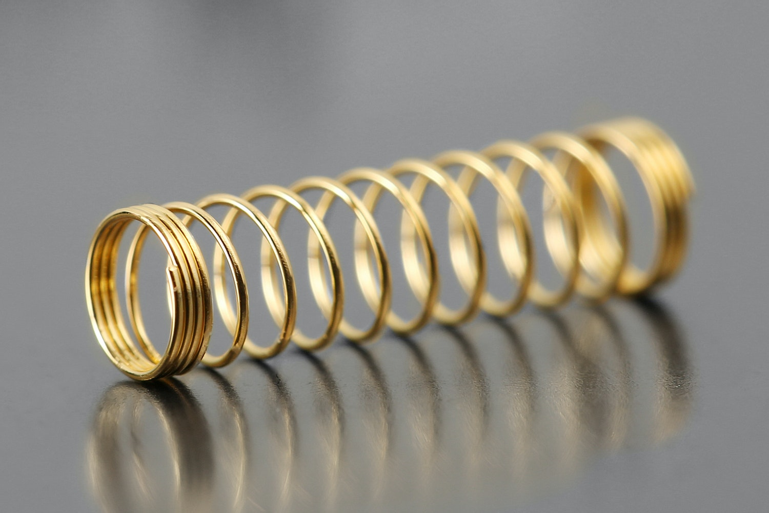 SPRiT 24K Gold-Plated Cherry MX Springs (100pcs)