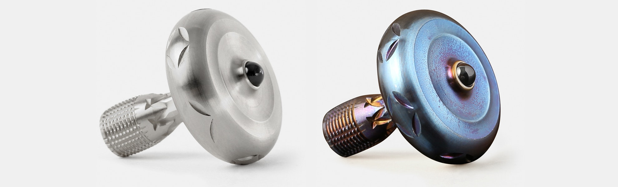 "Spun Out Designs ""Sceptre"" Spinning Top"