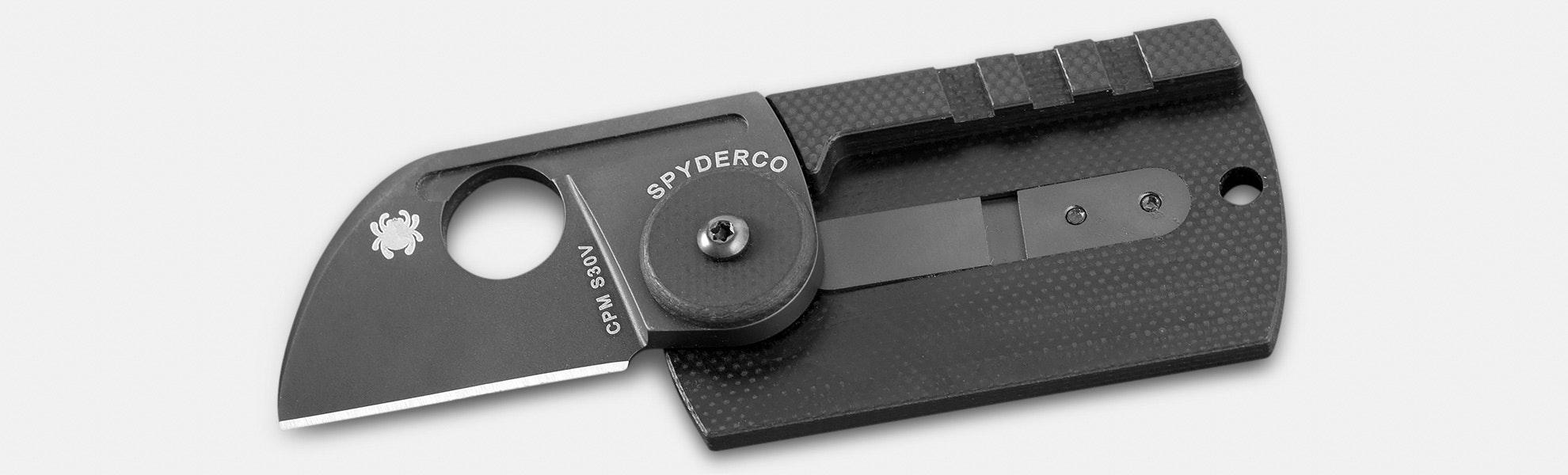 Spyderco Carbon Fiber Dog Tag Folder