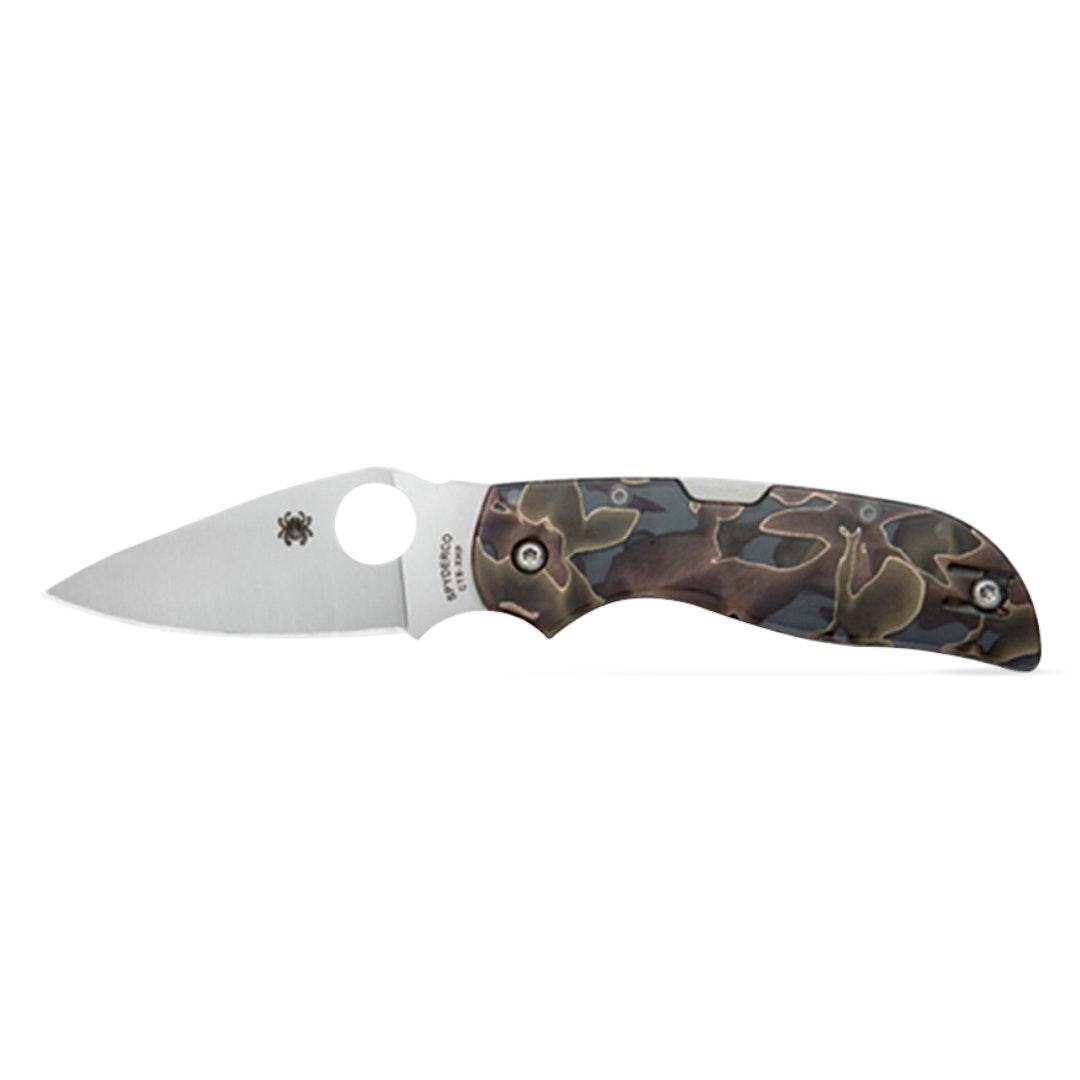 Spyderco Chaparral Raffir Noble Knife w/ Pouch