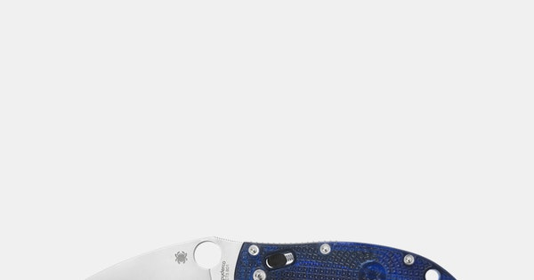 Shop Spyderco Manix 2 Knife Translucent Dusk Blue & Discover