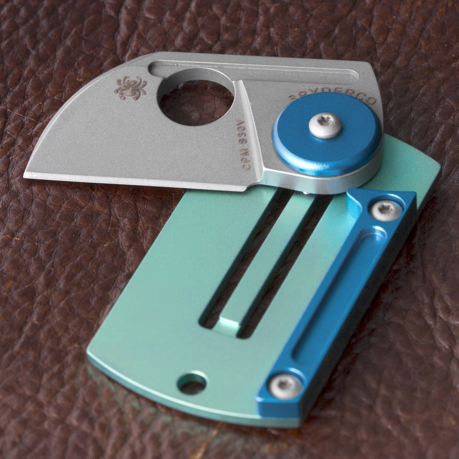 Spyderco Panchenko Dog Tag Folder