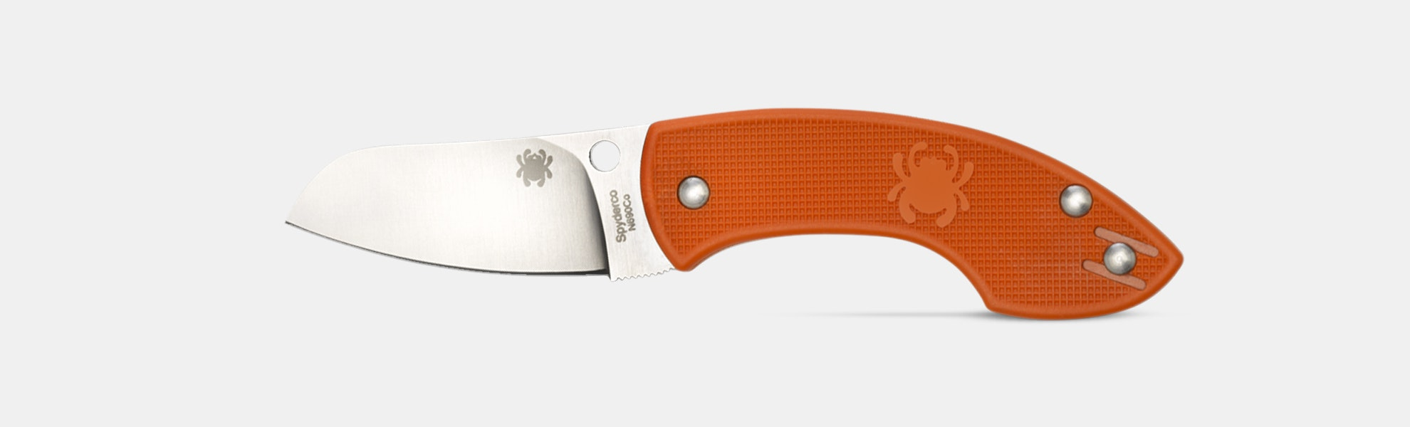 Spyderco Pingo Orange Folding Knife