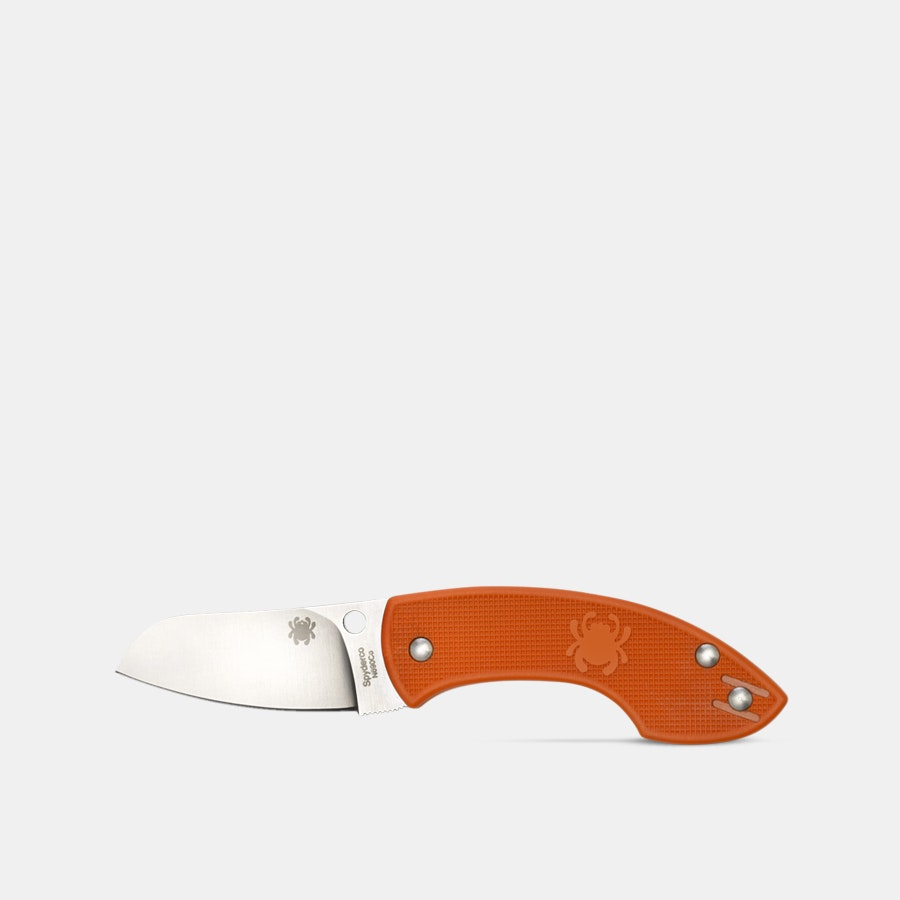 Spyderco Pingo Orange Folding Knife