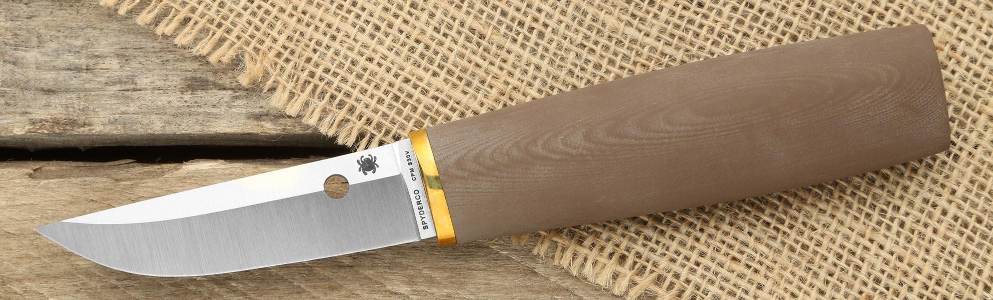 Spyderco Puukko Fixed Blade Knife