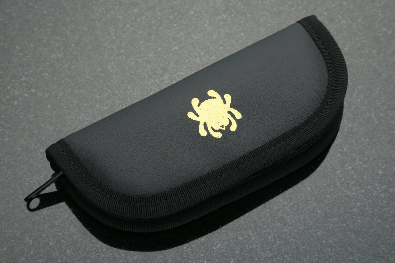 Spyderco C158TI Techno Folder w/ Travel Case
