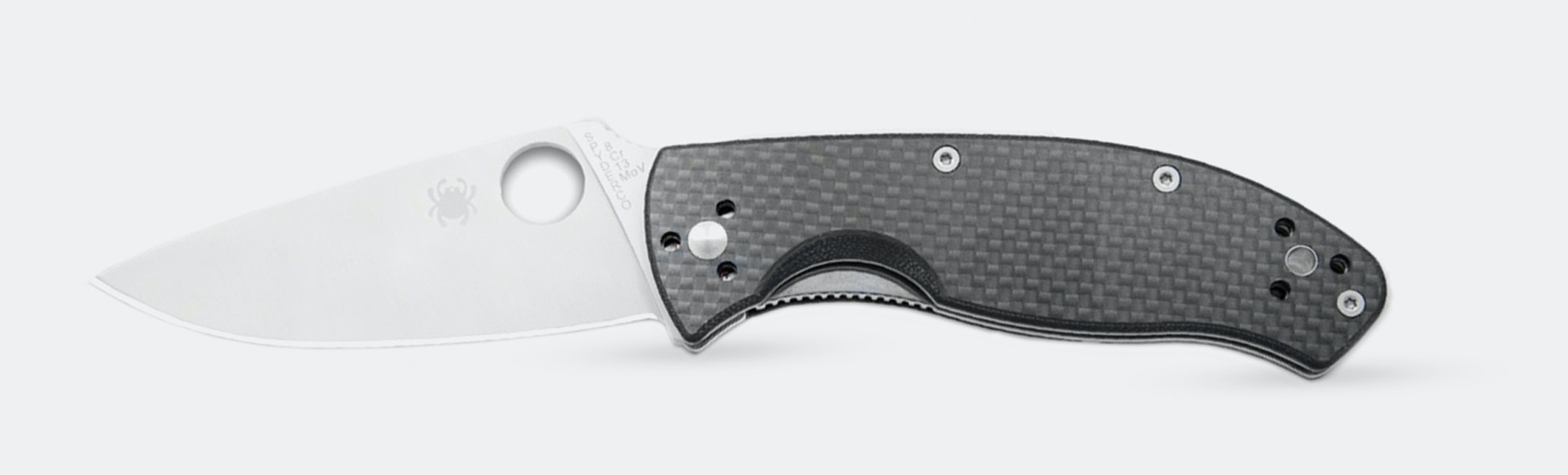 Spyderco Tenacious Carbon Fiber G-10 Folding Knife