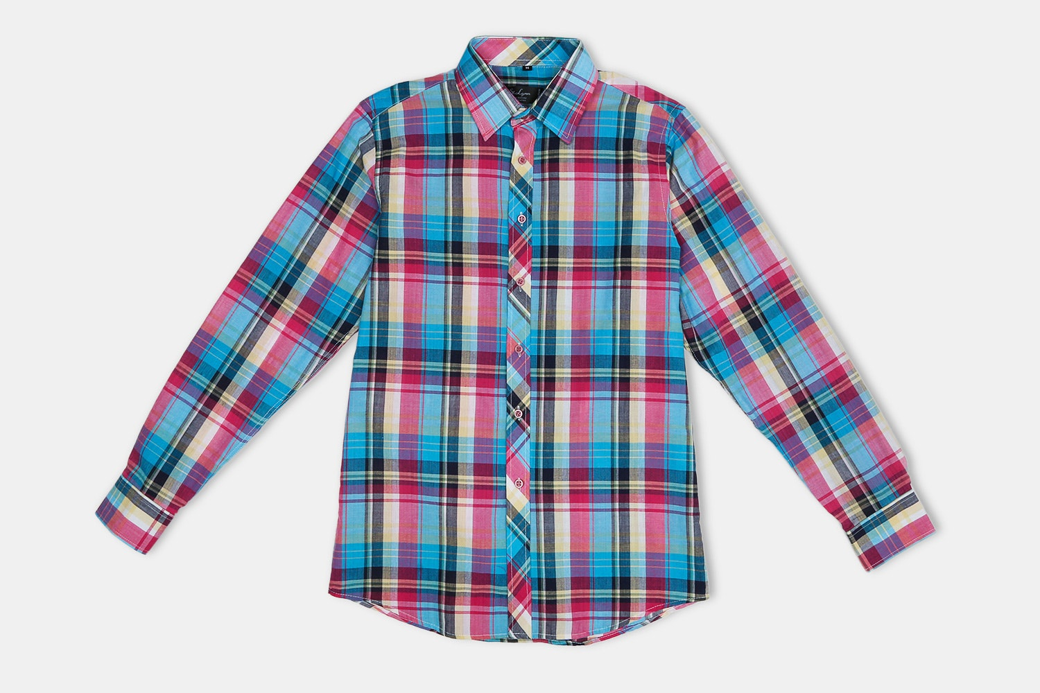 Roscoe Button-UP // Multicolor Check