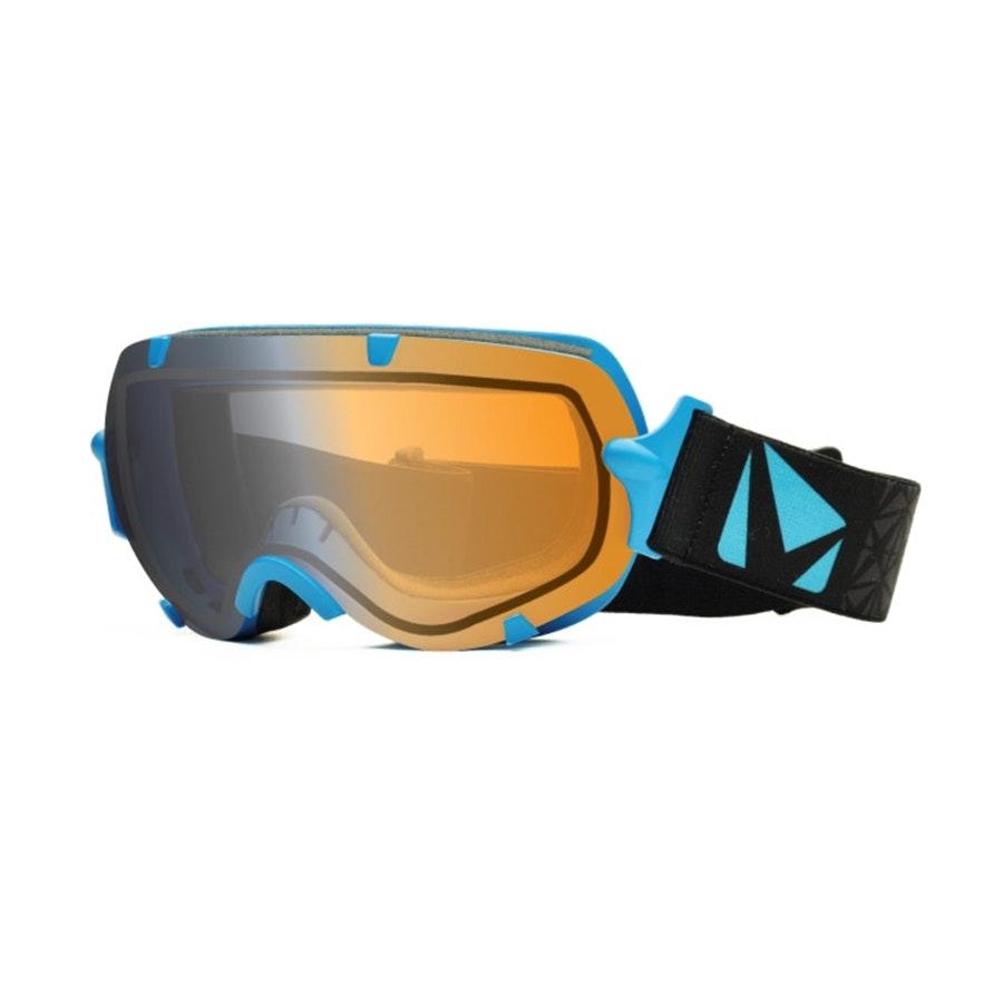 Large Stunt Goggle: Blue w/ Photochromic Lens