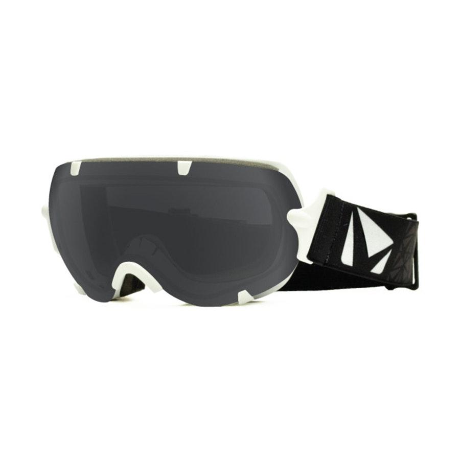 Stunt Goggle: White