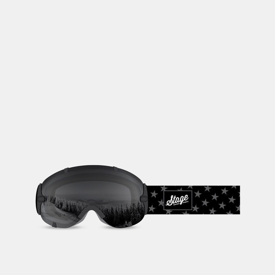 Stage  Stunt National Flag Ski Goggles