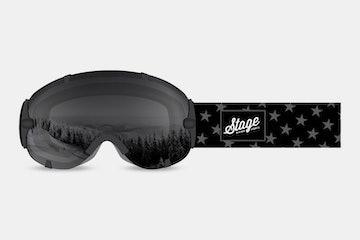 USA - Black & White Flag