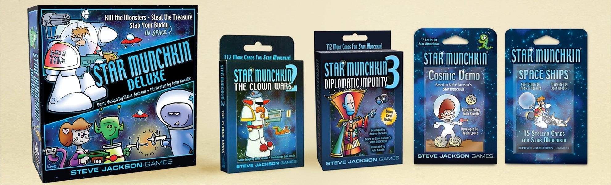 Star Munchkin Deluxe Bundle