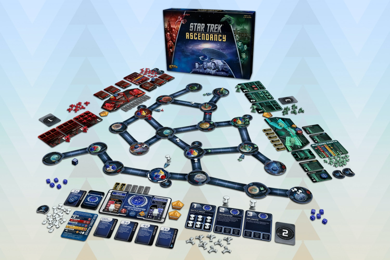 Star Trek: Ascendancy Board Game