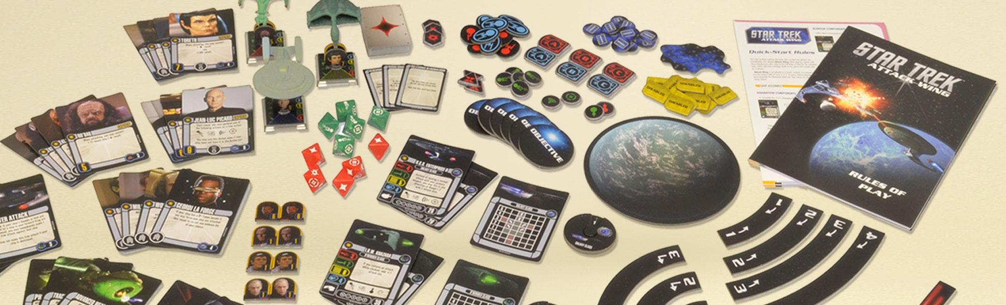 Star Trek: Attack Wing Starter Bundle