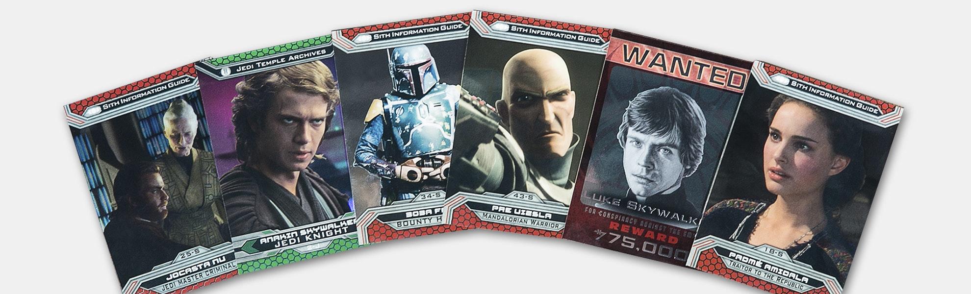 Star Wars Chrome: Jedi vs Sith Hobby Box