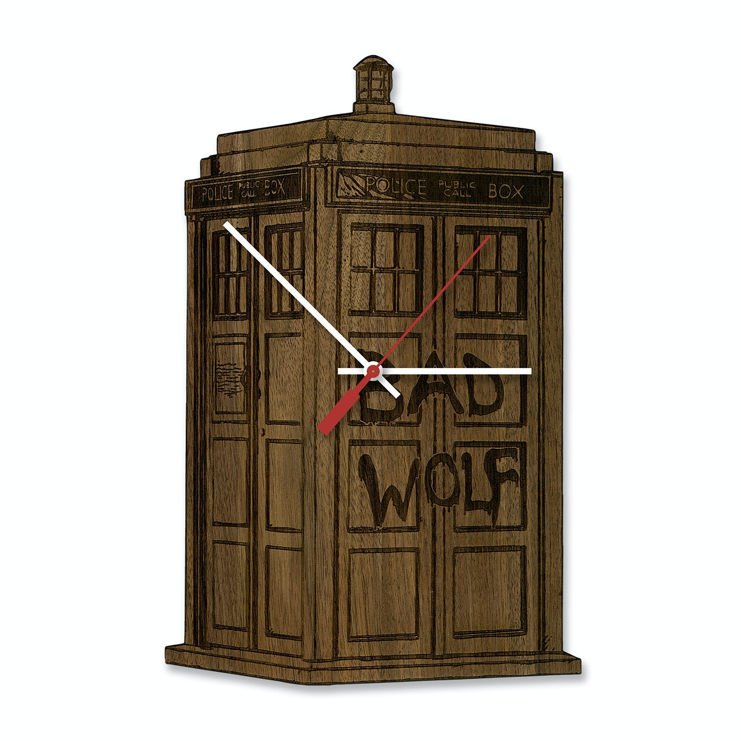 Dr. Who Tardis Clock