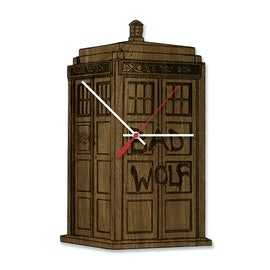 Dr. Who Tardis Clock