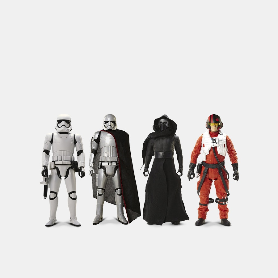 Star Wars Episode VII 18-Inch Figures (4-Pack)