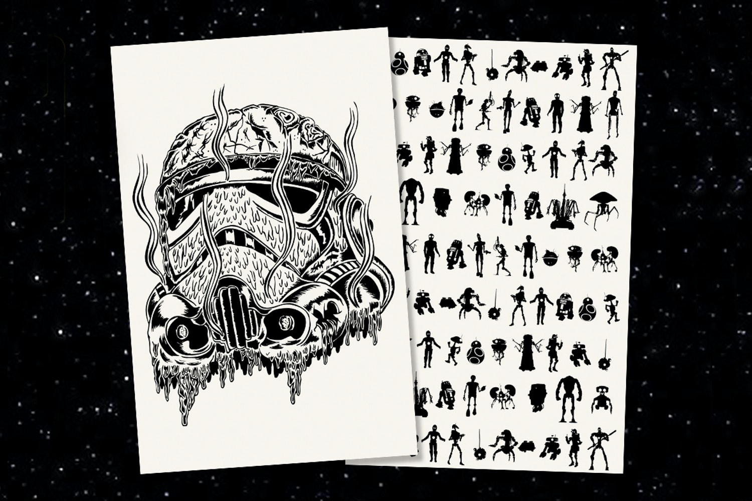 Inked & Screened Limited Edition May the 4th Prints