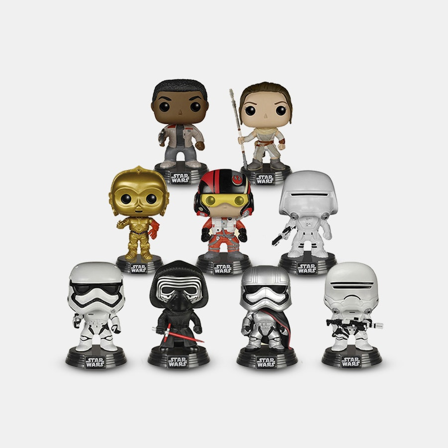Star Wars Funko POP! Episode VII Bundle