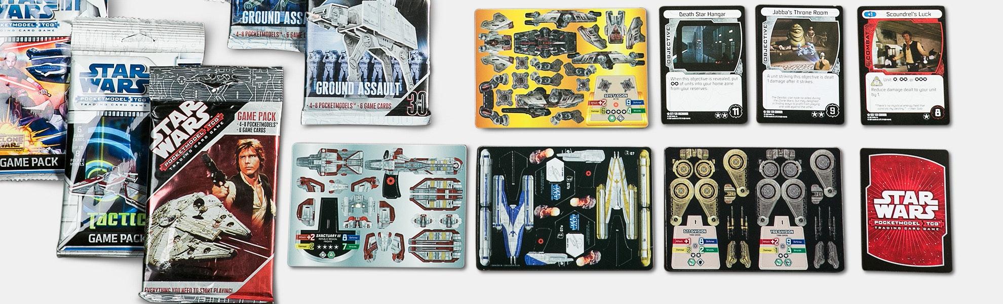 Star Wars Pocket Model TCG Bundle