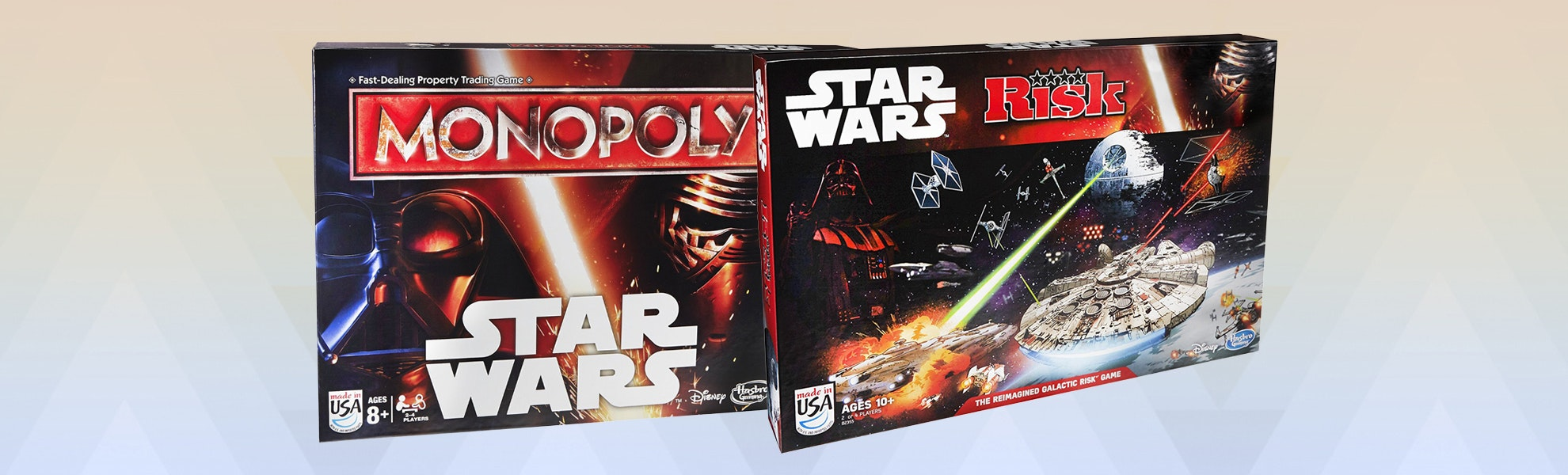 Star Wars TFA: Monopoly & Risk Bundle