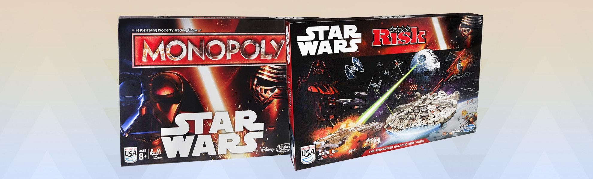 Star Wars TFA: Monopoly & Risk Bundle