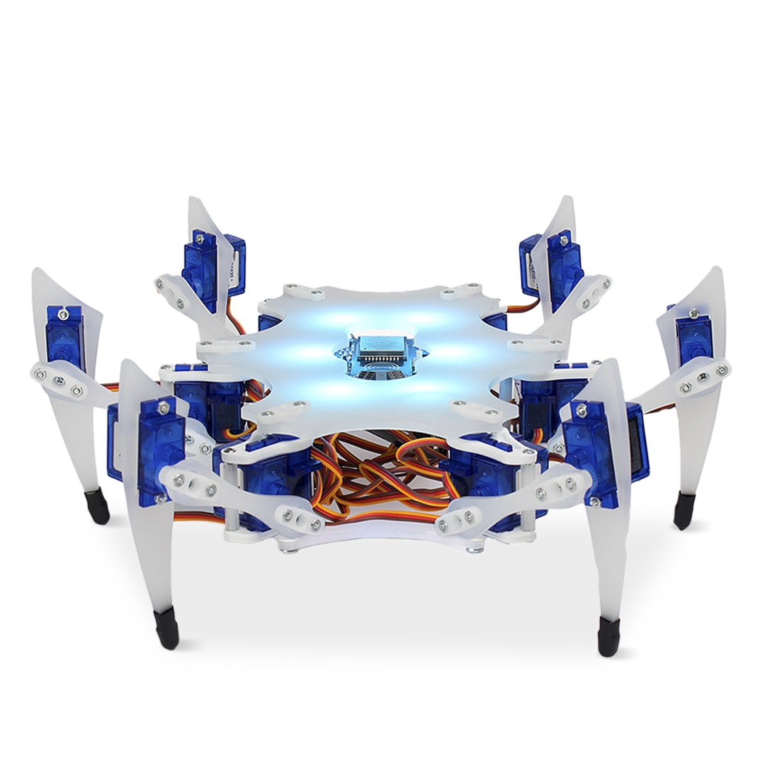 STEMI Hexapod Robot Kit