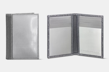 Driving Wallet, Silver