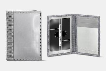 Slim Bill Fold (ID), Silver (+ $10)