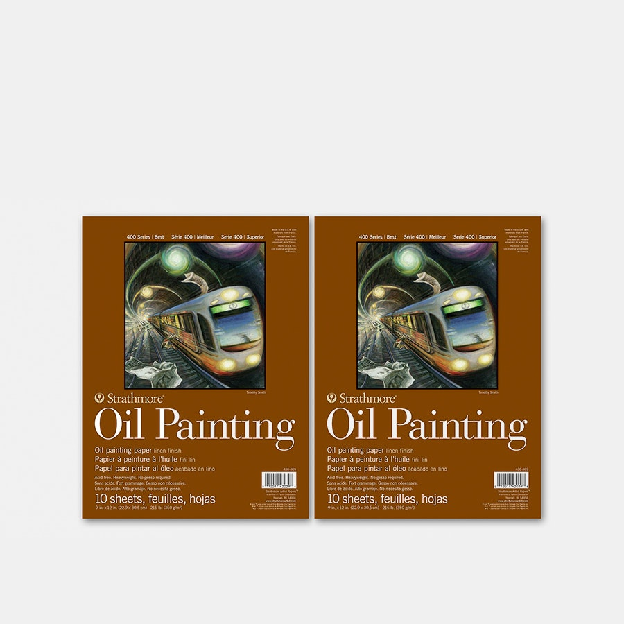 Strathmore 400 Series Oil Painting Pad (2-Pack)