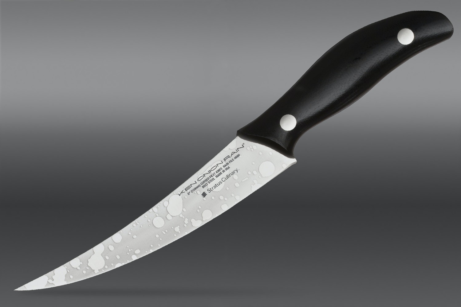 6-inch Curved Filet Knife (+ $15)