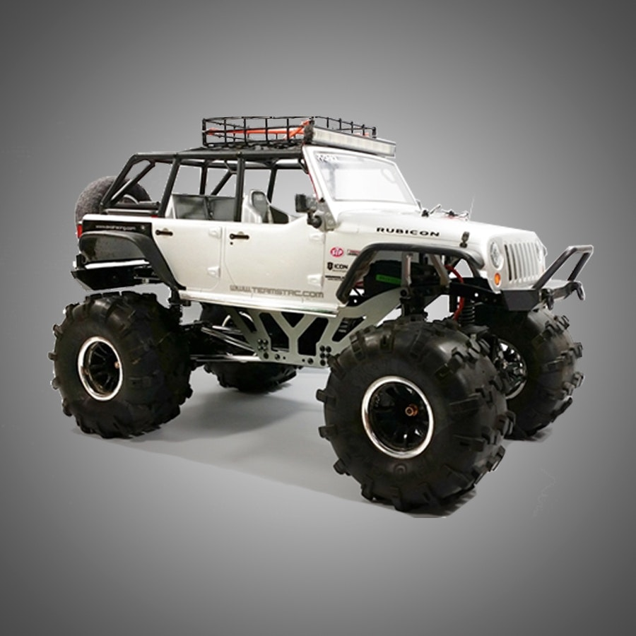 STRC CNC Machined Chassis Lift Kit for Axial SCX-10