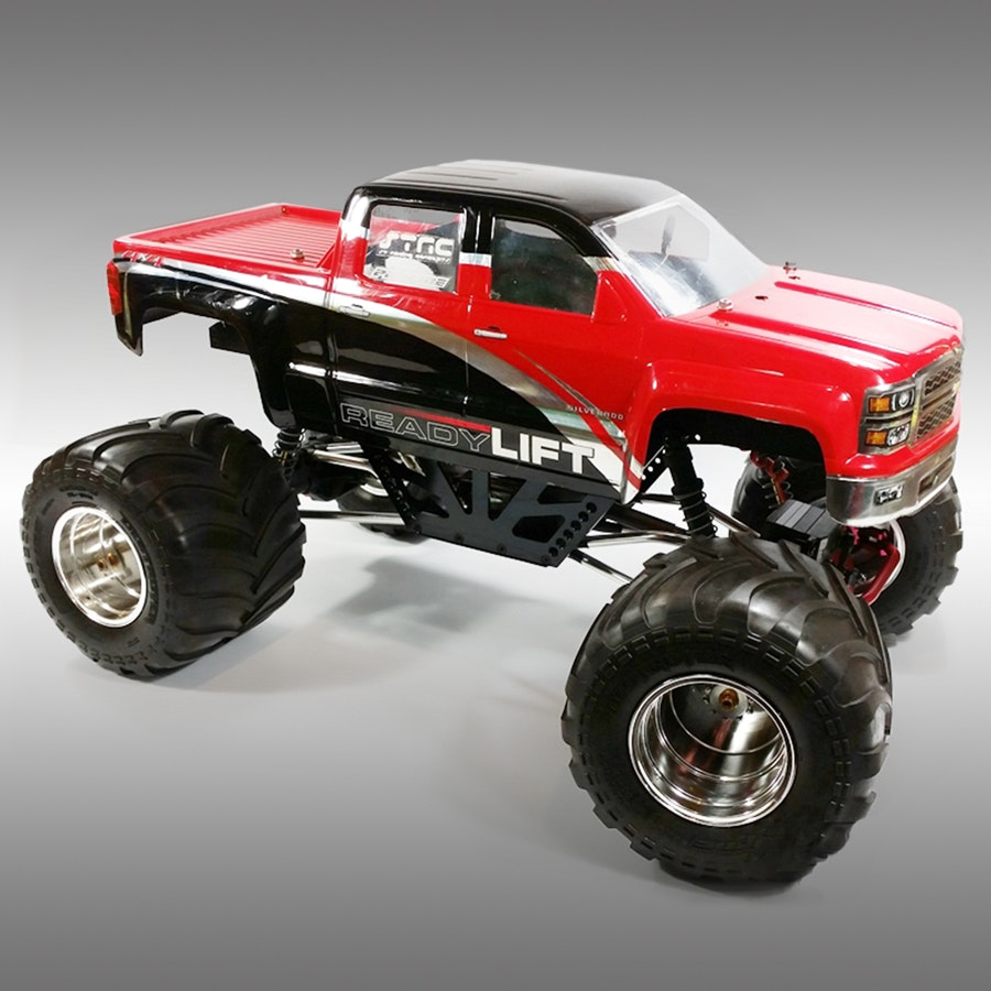 STRC Izilla LCG Monster Truck Conversion for Wraith